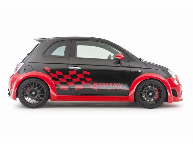 Hamann Fiat 500 Abarth Esseesse cars modified 2010 wallpaper