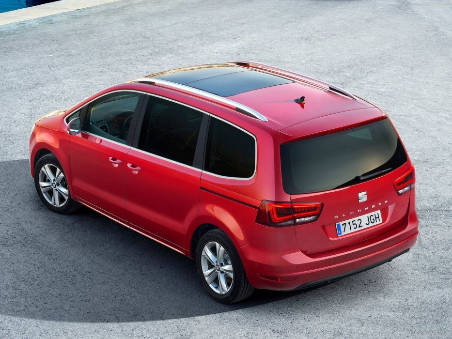 Seat Alhambra cars 2016 wallpaper