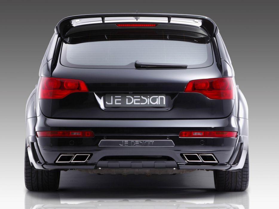 Je Design Audi-Q7 S-Line cars modified 2010 wallpaper