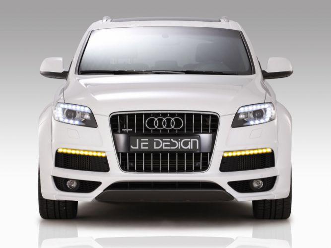 Je Design Audi-Q7 S-Line cars modified 2011 wallpaper
