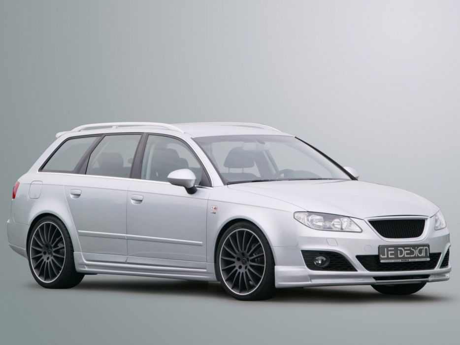 Je Design Seat Exeo-ST cars modified 2009 wallpaper
