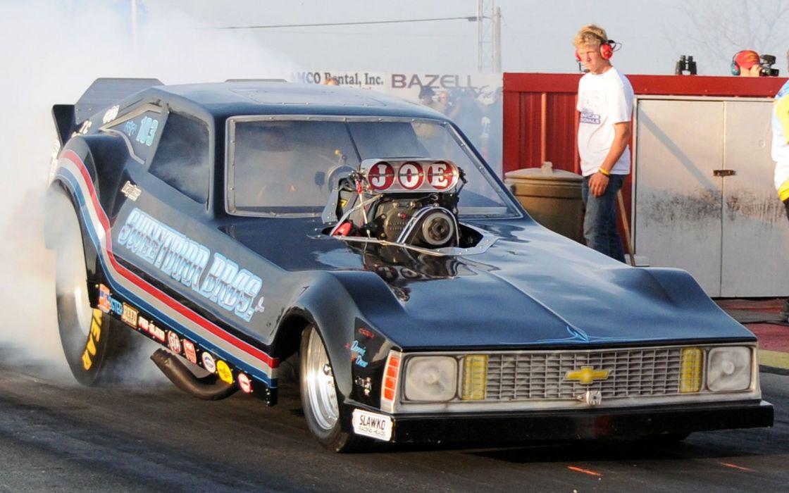 FUNNYCAR drag racing race hot rod rods custom funny car classic wallpaper
