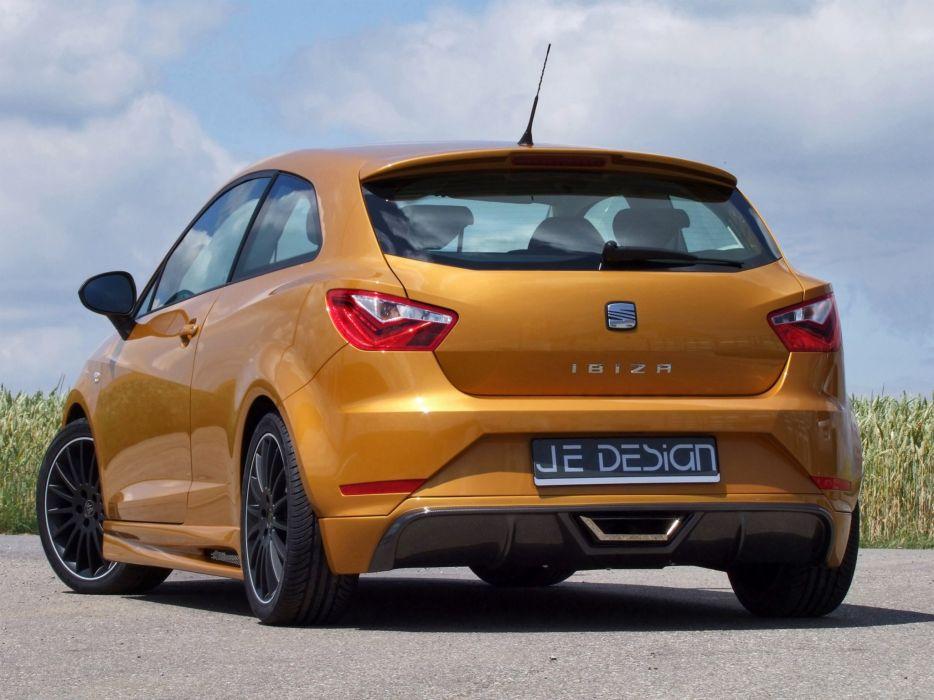 Je Design Seat; Ibiza-6J cars modified 2012 wallpaper