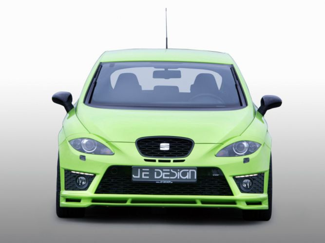 Je Design Seat Leon Cupra cars modified 2009 wallpaper