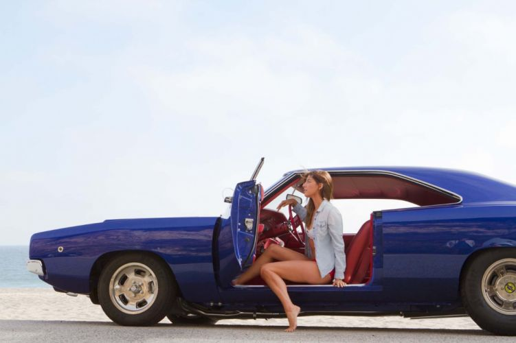 1968 Dodge Hemi Charger mopar hot rod rods classic muscle f wallpaper