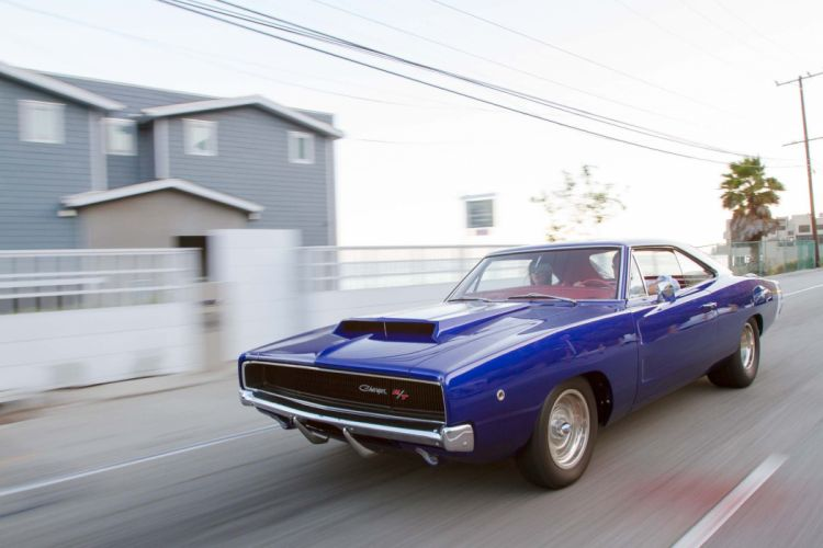 1968 Dodge Hemi Charger mopar hot rod rods classic muscle f wallpaper