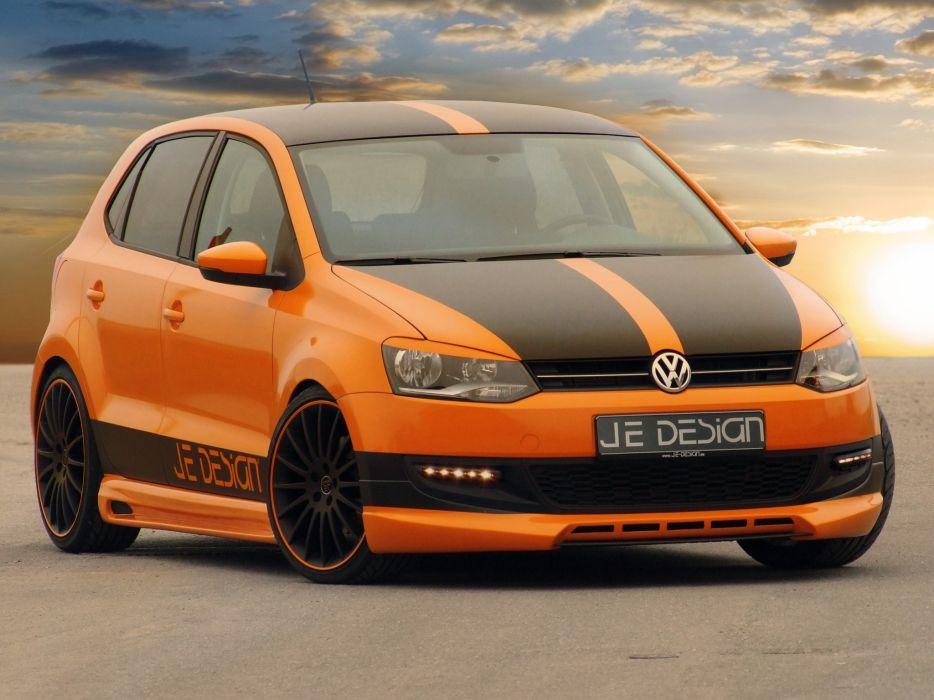 Je Design Volkswagen Polo 5-door cars modified 2010 wallpaper