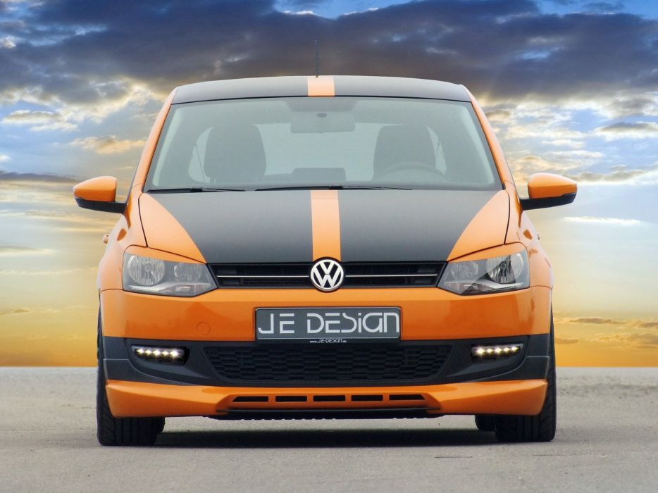Je Design Volkswagen Polo 5-door cars modified 2010 wallpaper