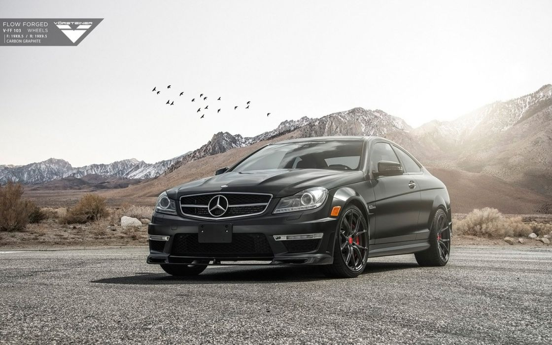 2015 Vorsteiner Mercedes-Benz C63 AMG coupe modified cars wallpaper