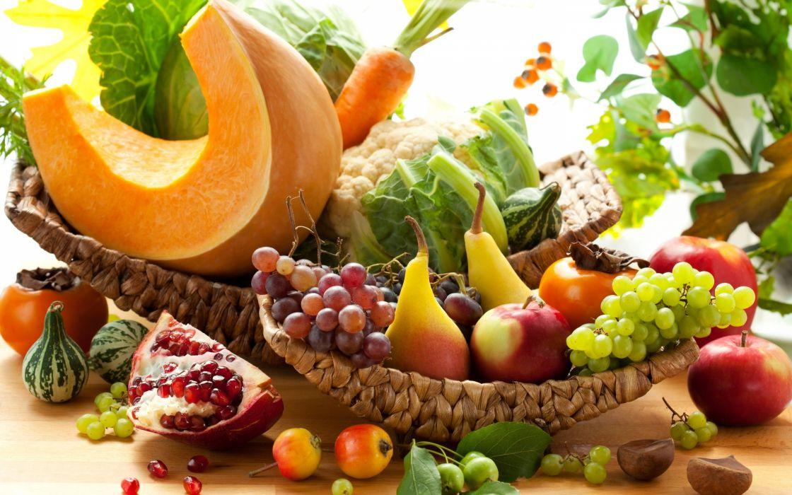 frutas verduras wallpaper