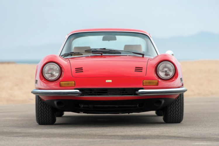 Dino 246-GT US-spec coupe cars 1971 wallpaper