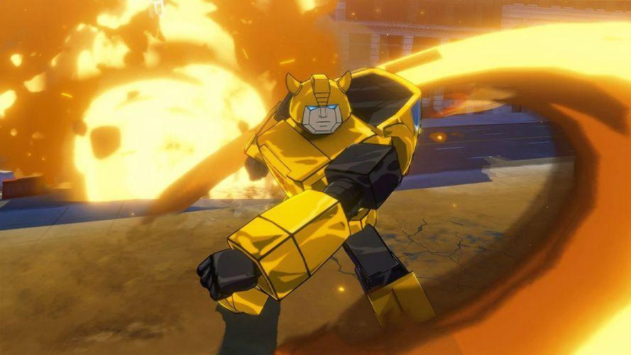 TRANSFORMERS DEVASTATION sci-fi action fighting robot mecha 1tdev warrior wallpaper