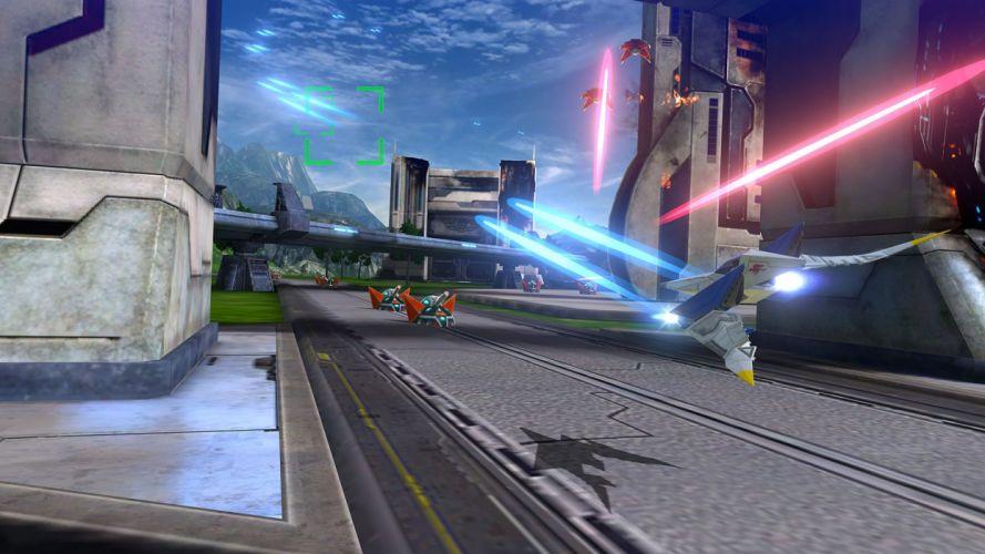 STAR FOX ZERO Suta Fokkusu Zero scrolling shooter action foxes nintendi wii fighting 1sfz sci-fi futuristic wallpaper