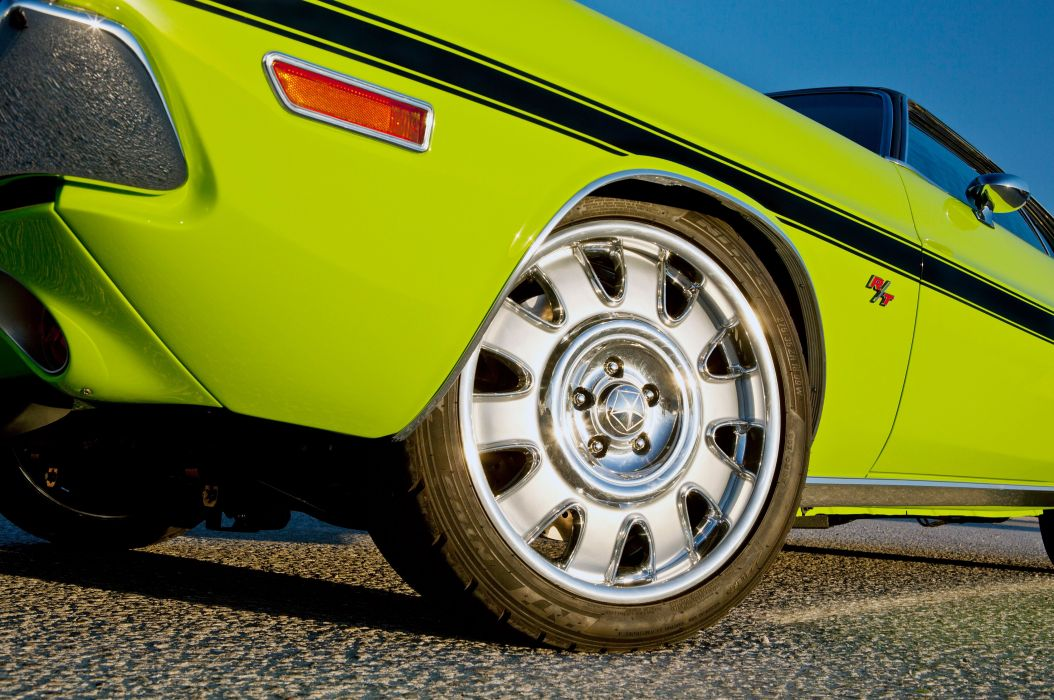 1970 Dodge Challenger hot rod rods custom muscle classic wallpaper