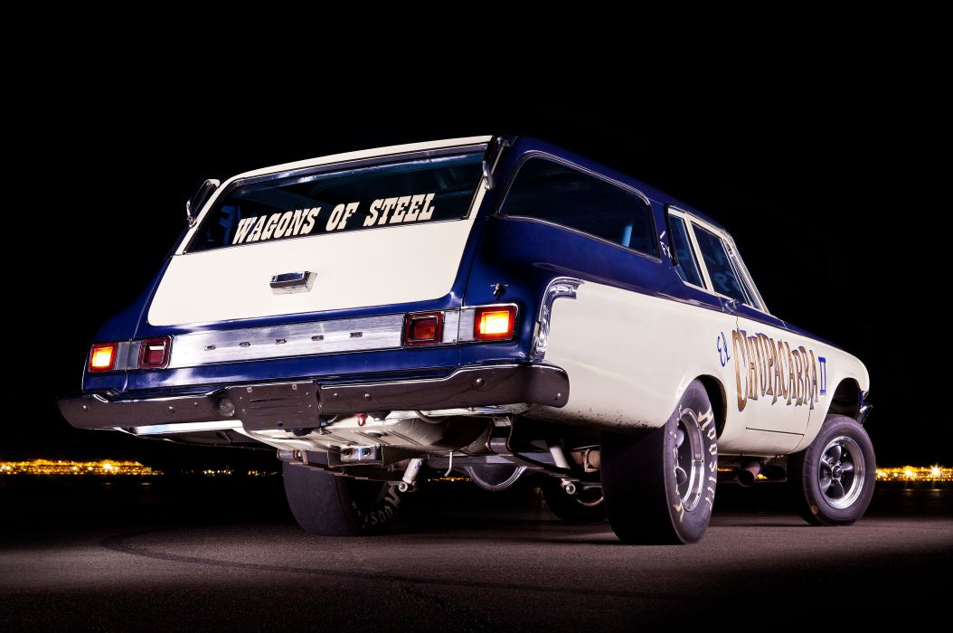 1964 Dodge 330 Stationwagon drag racing race hot rod rods classic wallpaper