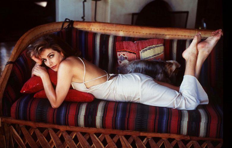 MARINA SIRTIS actress star trek brunette Next Generation wallpaper