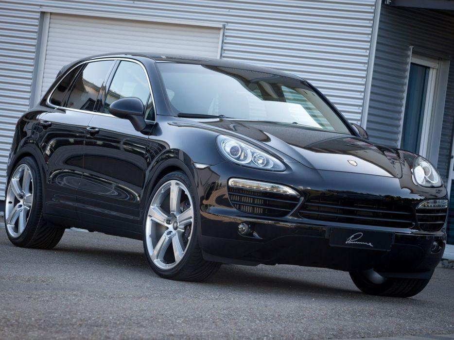 Lumma Design Porsche Cayenne Diesel (958) 2010 cars modified 2009 wallpaper