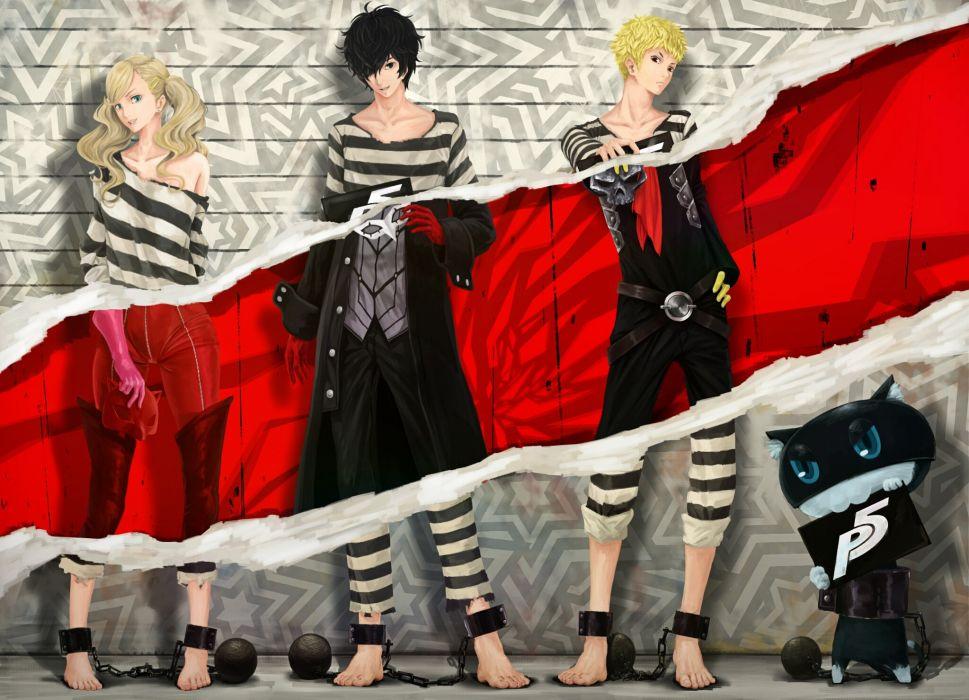 PERSONA 5 Protagonist rpg anime manga dungeon simulation five 1pers5 megami tensei wallpaper