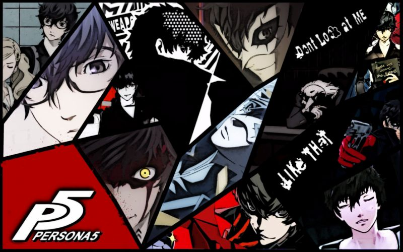 PERSONA 5 Protagonist rpg anime manga dungeon simulation five 1pers5 megami tensei poster wallpaper