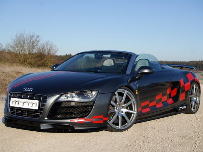 MTM Audi-r8 V10 Spyder 2012 cars modified wallpaper