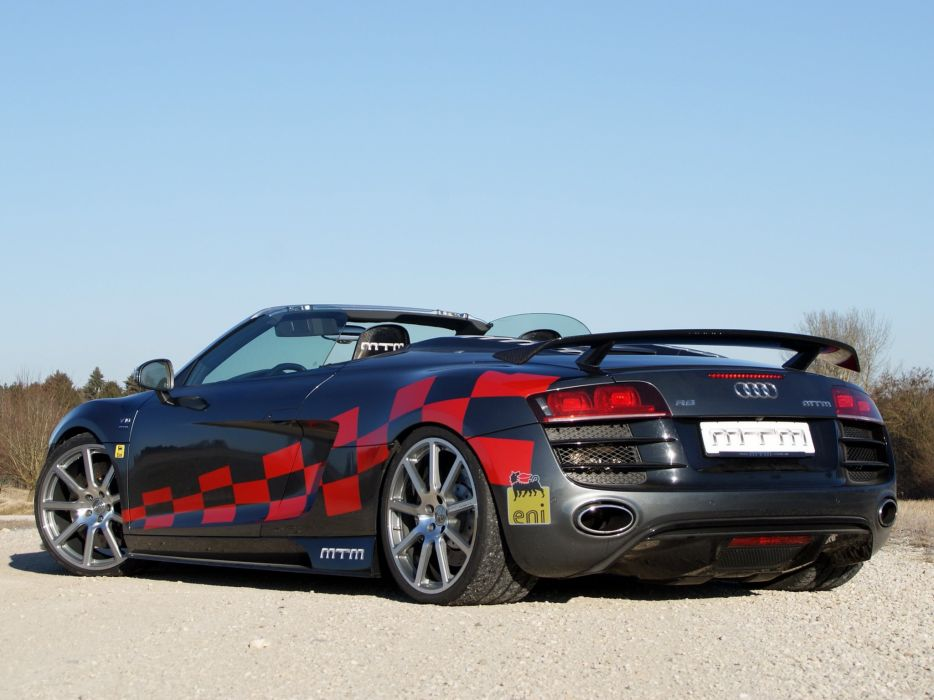 MTM Audi-r8 V10 Spyder 2012 cars modified wallpaper