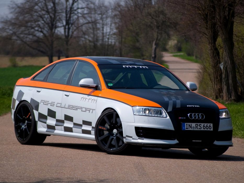 MTM Audi RS-6 Clubsport 2010 cars modified wallpaper