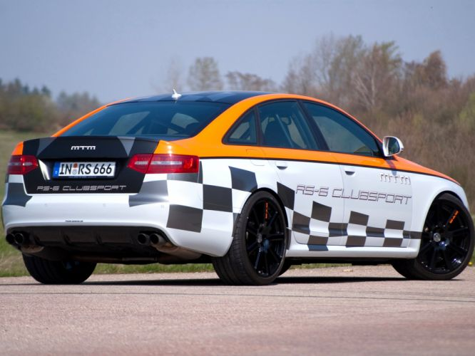 MTM Audi RS-6 Clubsport 2010 cars modified wallpaper