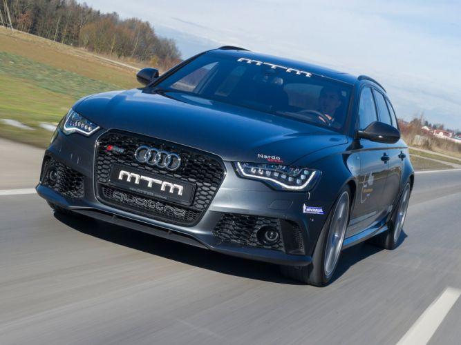 MTM Audi RS-6 Avant 2013 cars modified wallpaper