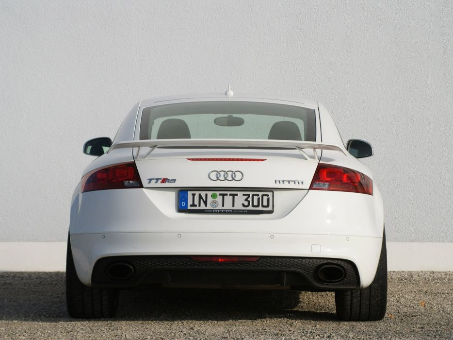 MTM Audi Audi TT-RS 2009 cars modified wallpaper