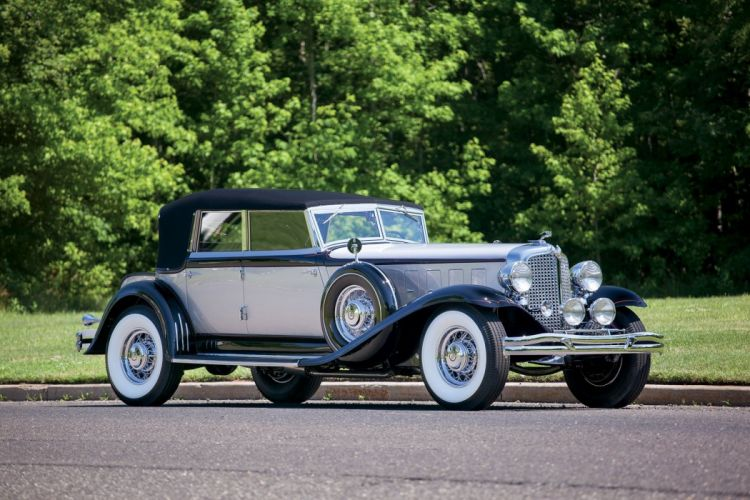 1932 Chrysler Imperial Convertible Sedan LeBaron classic cars wallpaper