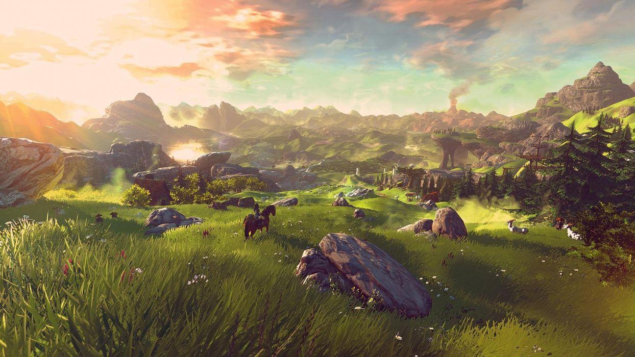 LEGEND Of ZELDA Wii U fantasy action adventure 1lzwu platform nintendo wallpaper