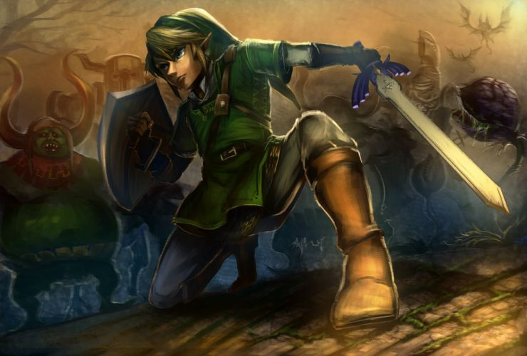 LEGEND Of ZELDA Wii U fantasy action adventure 1lzwu platform nintendo wallpaper