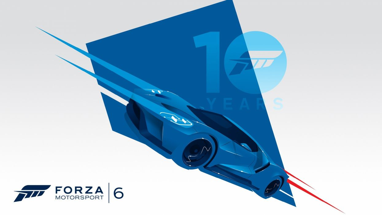 FORZA MOTORSPORT 6 race racing supercar formula xbox action six poster wallpaper