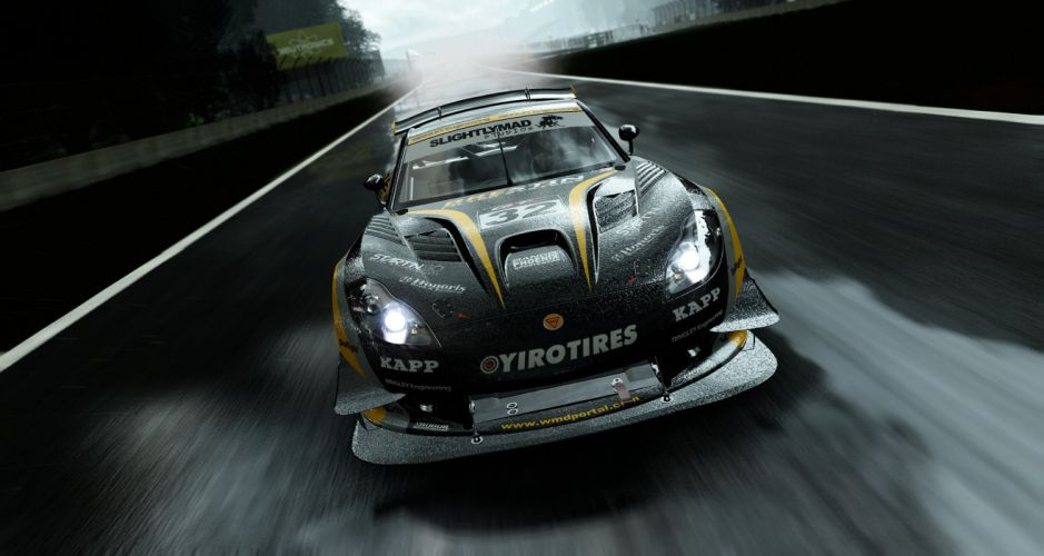 PROJECT CARS racing simulator action race supercar artwork custom 1pcars poster wallpaper