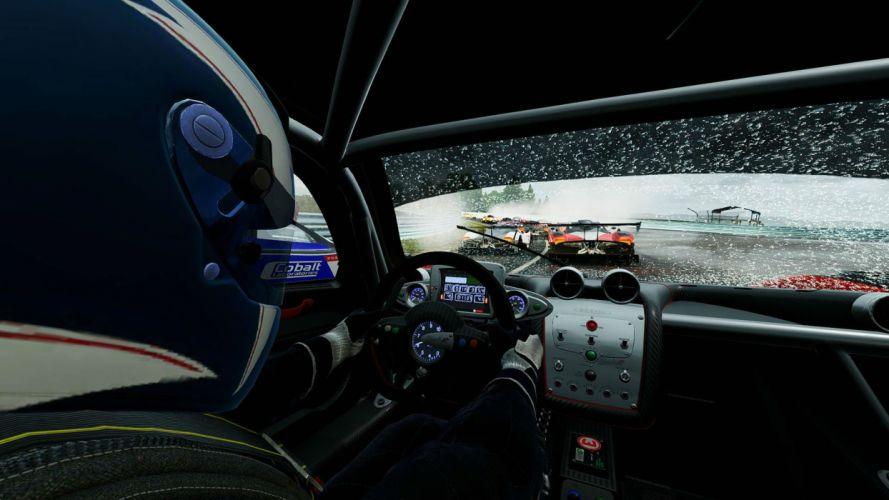 PROJECT CARS racing simulator action race supercar artwork custom 1pcars poster wallpaper