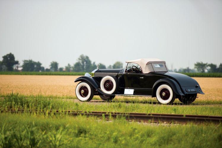 Rolls-Royce Phantom-I Playboy Roadster Brewster classic cars 1927 wallpaper