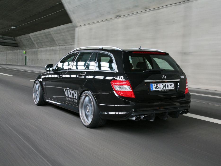 VATH Mercedes-Benz V63-RS Estate (S204) cars modified 2009 wallpaper