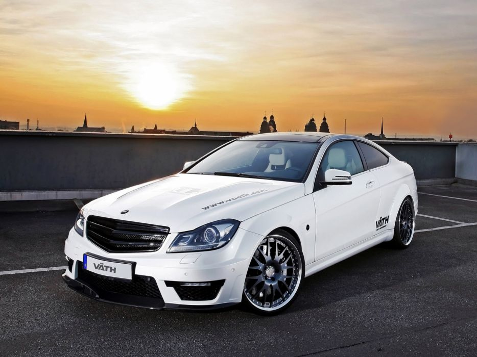 VATH Mercedes-Benz V63 Supercharged Coupe (C204) cars modified 2011 wallpaper