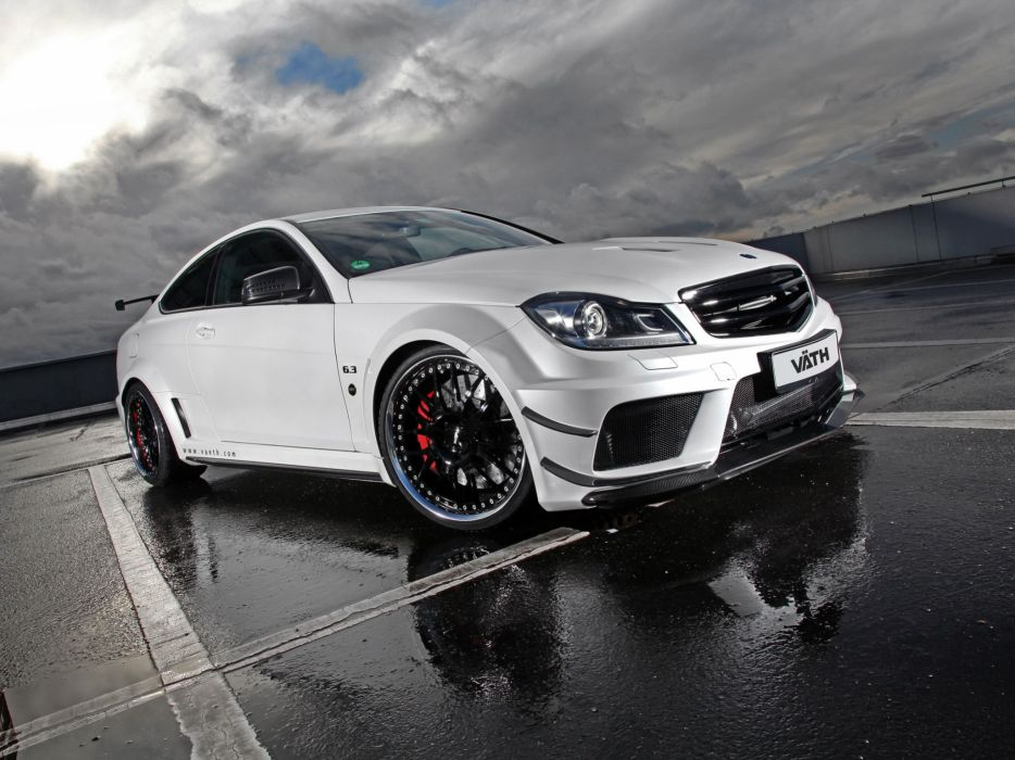 VATH Mercedes-Benz V63 Black Series Supercharged Coupe (C204) cars modified 2011 wallpaper