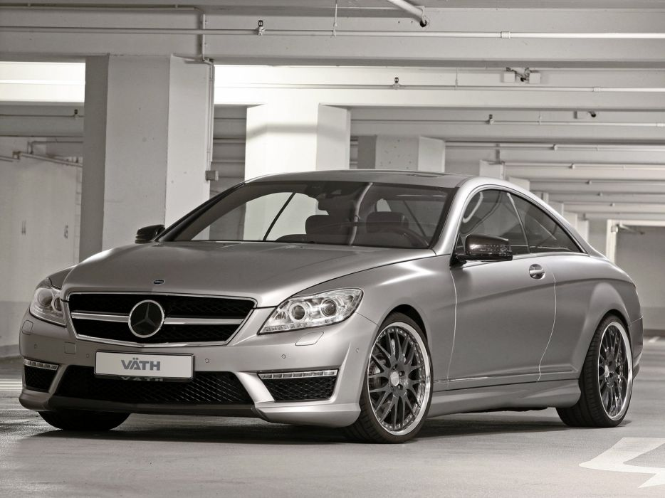 VATH Mercedes-Benz CL-65 AMG (C216) cars modified 2011 wallpaper