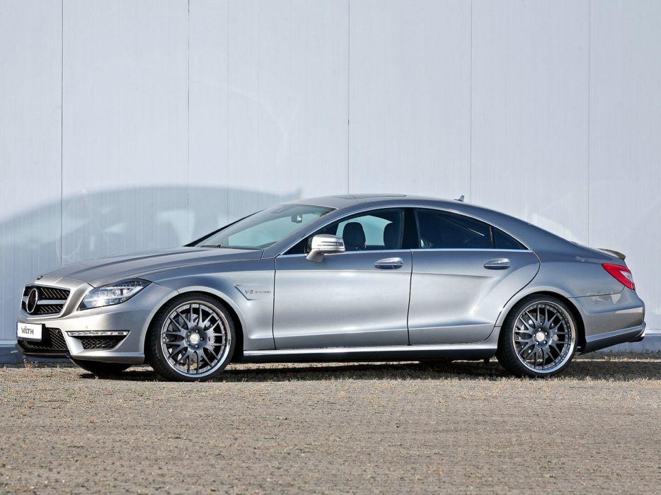 VATH Mercedes-Benz CLS V63-RS (C218) cars modified 2011 wallpaper