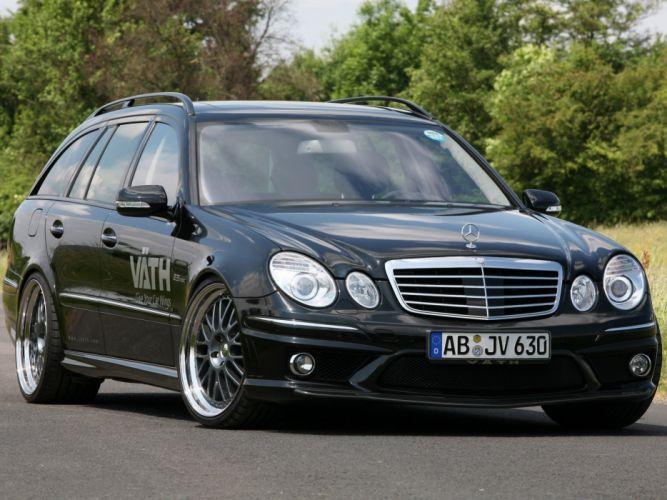VATH Mercedes-Benz E-63 AMG Estate (S211) cars modified 2009 wallpaper