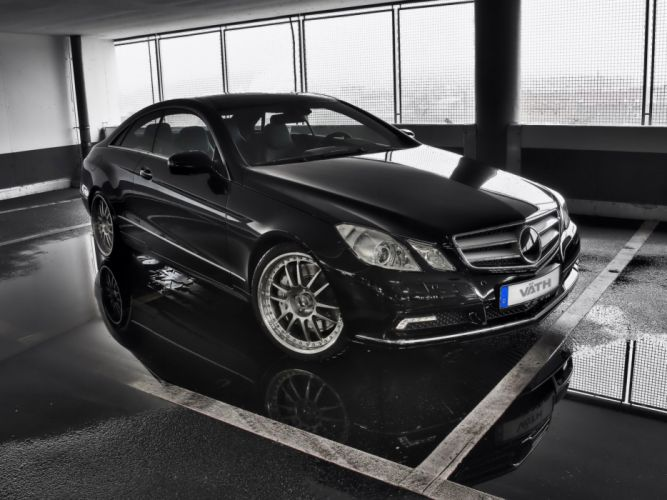 VATH Mercedes-Benz E-500 Coupe V50S cars modified 2010 wallpaper