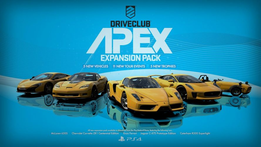 DRIVECLUB racing action race supercar game poster wallpaper