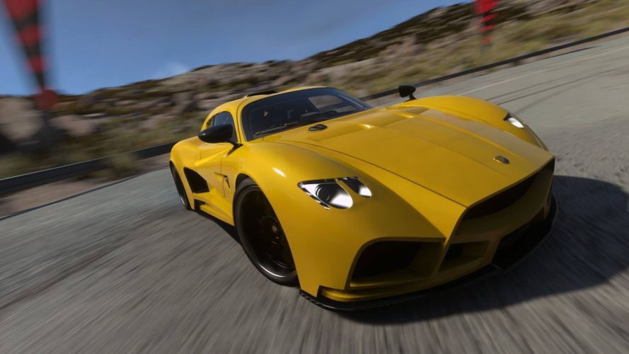 DRIVECLUB racing action race supercar game wallpaper