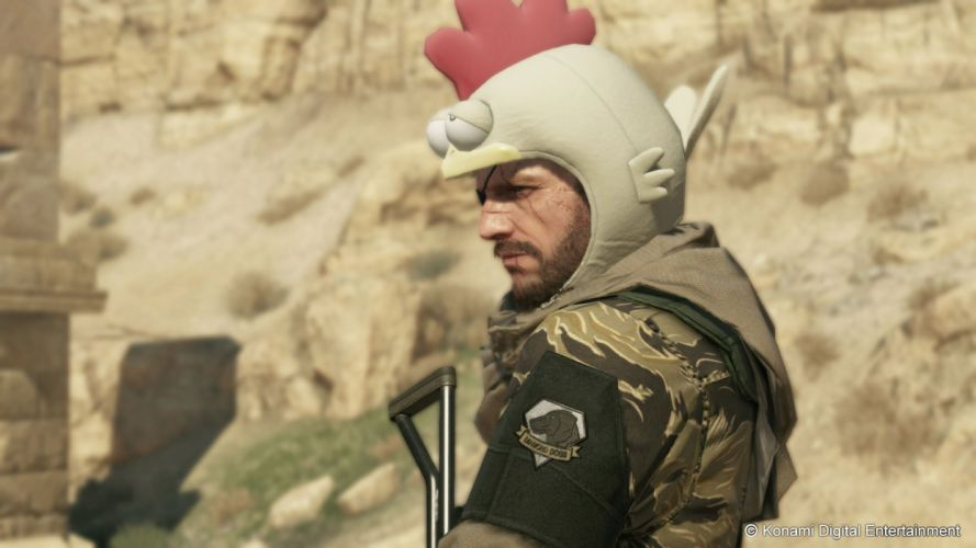 METAL GEAR SOLID Phantom Pain action shooter fighting military warrior tactical wallpaper