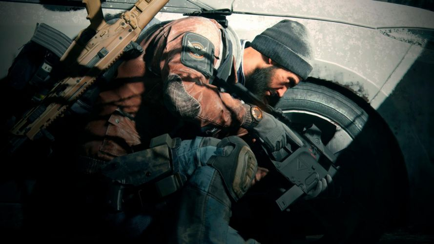 TOM CLANCYS DIVISION tactical shooter rpg action fighting military sci-fi futuristic wallpaper