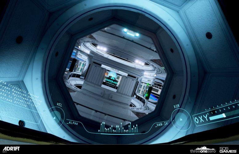 ADR1FT space adventure survival spaceship astronaut futuristic wallpaper