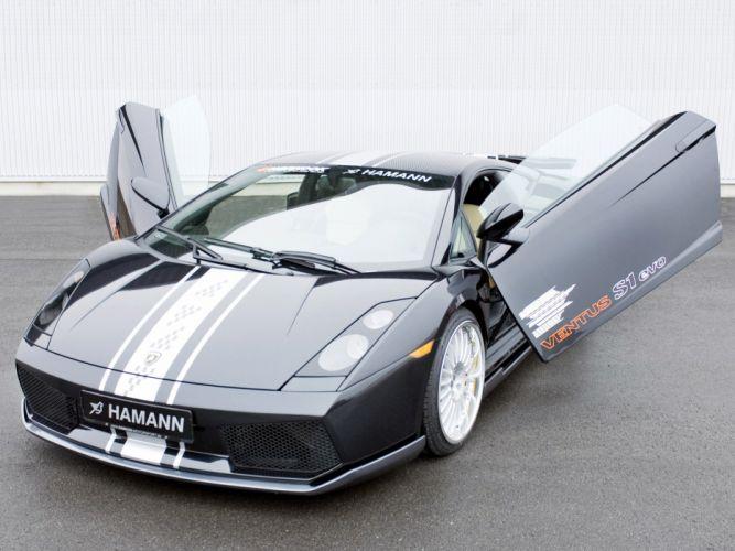 Hamann Lamborghini Gallardo cars modified 2004 wallpaper