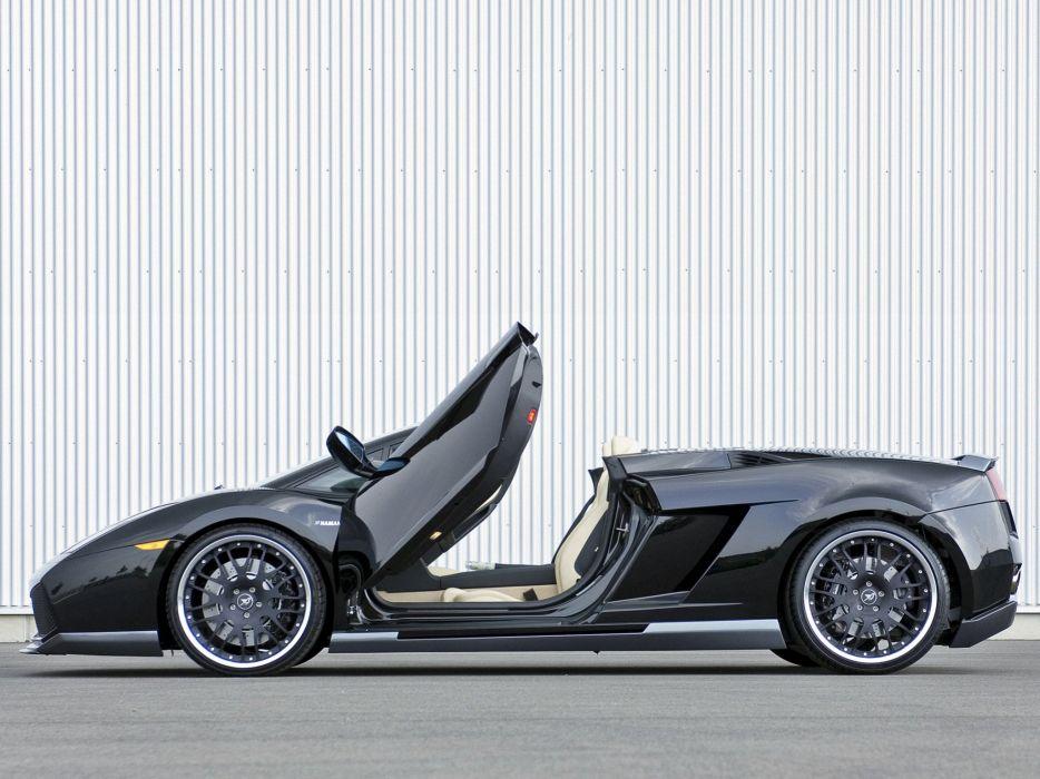 Hamann Lamborghini Gallardo Spyder cars modified 2006 wallpaper